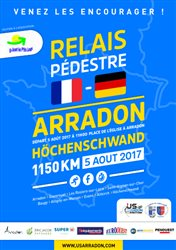 Initiative. Relais de 1150km par l'US Arradon